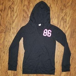 Victoria's Secret Love PINK light weight hoodie l